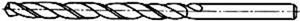 Рисунок 5 Спиральное сверло длинной серии по ГОСТ 886-77